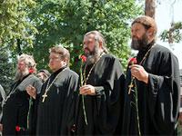 В Казахстанской Митрополии состоялись богослужения, посвященные 70-й годовщине начала Великой Отечественной войны