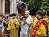 Мощи святителя Николая в Петропавловске | Фото с сайта mitropolia.kz