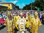 День первоверховных апостолов Петра и Павла. Торжества в Петропавловске. Самый большой крестный ход Казахстана
