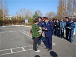 Полицейские организовали зарницу для детей