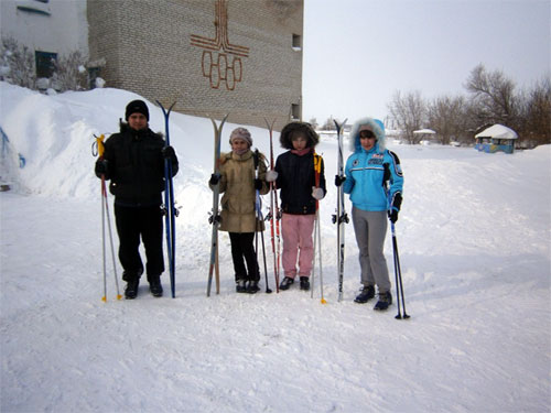 Проведение соревнований «Зимушка»