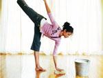 Как при дефиците времени сохранить фигуру? Фитнес-уборка! | Фото с сайта allwomens.ru