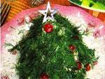 Салат «Новогодняя елочка 2012»