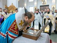 Мощи святых преподобномучениц Великой княгини Елисаветы и инокини Варвары прибыли в Митрополичий Округ в Республике Казахстан