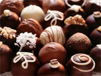 Приготовление украшений из шоколада