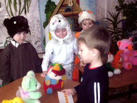 Математическое развлечение для детей 3–4 лет на тему «Давайте поиграем»