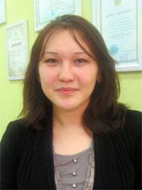 Есенгазина Мадина Елемесовна