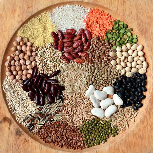 витамины группы В содержатся в орехах и бобовых