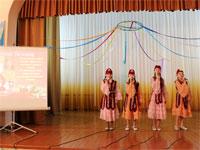 Акция «Қуан, сјби!» в областной школе-интернате для детей-сирот