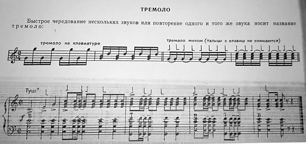 Рисунок 1 // Открытый урок на тему: «Аппликатурные принципы современного аккордеониста»