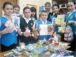 Благотворительная акция для детей, лечащихся в областной детской больнице
