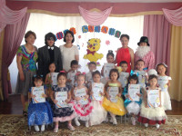 Конкурс «Әнші балапан» в детском саду