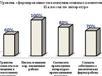Компетентностный подход на уроках русской литературы в старших классах