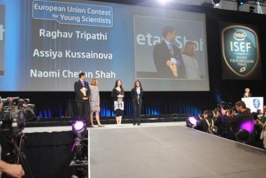 Школьница из Казахстана Асия Кусаинова победила на Международном научно-инженерном конкурсе корпорации Intel в США. Источник фото: kursiv.kz