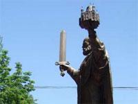 Памятник Николаю Чудотворцу установлен в Алматы | Фото с сайта nikolski.kz