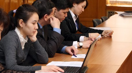 Казахстанские студенты. Фото ©Ярослав Радловский