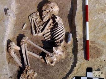 Одна из могил. Фото авторов исследования