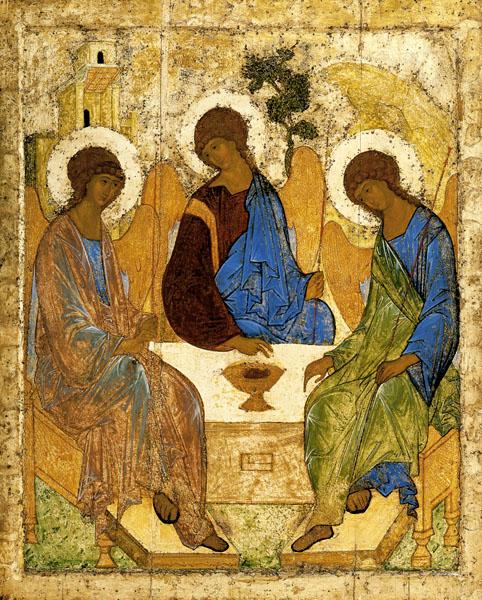 Троица — День святой Троицы, Пятидесятница | Фото с сайта antonicon.livejournal.com