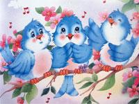 Развлечение в I младшей группе: «В гости к Птичке»