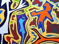 Тема урока: Абстрактная живопись | фото с сайта livinghealthy.typepad.com