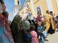 В Петропавловске православные казахстанцы молятся о дожде | фото с сайта www.petr-pavel.kz