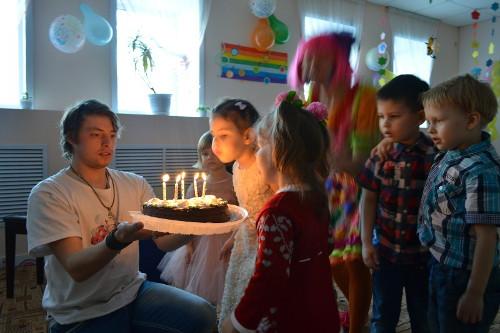 Проведение детских Дней рождения