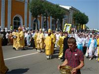 Крестный ход в Петропавловске