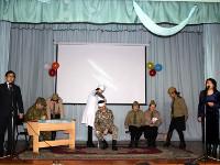 Ұлы Отан соғысы Жеңісінің 70 жылдығы мерекесі қарсаңына орай өткізілген  «Біз-Жеңістің ұрпақтарымыз» атты патриоттық әндер байқауының сценарийі