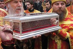 В Казахстан прибывают мощи святителя Спиридона Тримифунтского | Фото: spas-news.ru