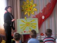 Занятие в средней группе на тему: «Как солнце весне помогло»