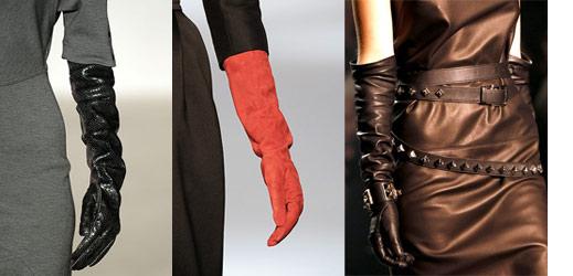 Длинные перчатки или разноцветные митенки
