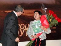 Казахстанский педагог удостоилась ордена Министерства науки и образования Франции