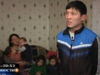 Семья Жанкатовых. Кадр телеканала КТК