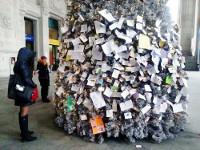 В Италии появилась почтовая елка
