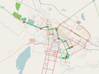 В Астане движение автобусов теперь можно отслеживать по интернету