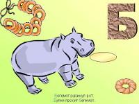 Урок обучения грамоте по теме: «Звуки [б, б,]. Буквы Бб. Б-П парные согласные» | Фото с сайта 900igr.net
