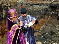 Закладка крестильного храма в честь священномученика Мефодия