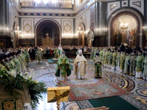 Патриарх Кирилл обратился к верующим на торжественной литургии