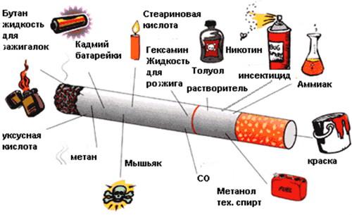 Доклад на тему вред курения и алкоголя