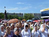 В Петропавловске состоялся крестный ход в честь святых апостолов Петра и Павла