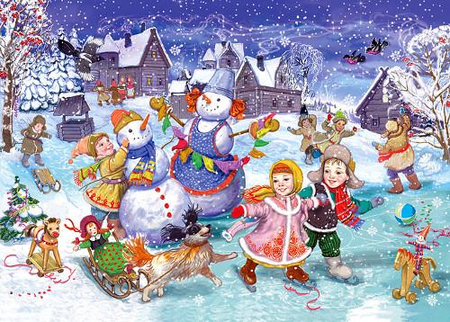 Итоги конкурса «Зимние забавы»