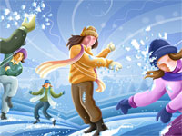 Theme: «Winter games»