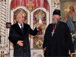 Аким области Серик Билялов поздравил православных христиан с Пасхой