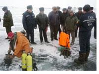 Водно-спасательная служба: учения на Тайсаре