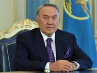 Нурсултан Назарбаев поздравил православных христиан с праздником Пасхи