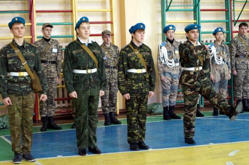 Доклад по военно патриотическому воспитанию школьников 7547